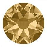 Hondenriem brilliance gold_