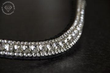 Frontriem 16mm Crystal