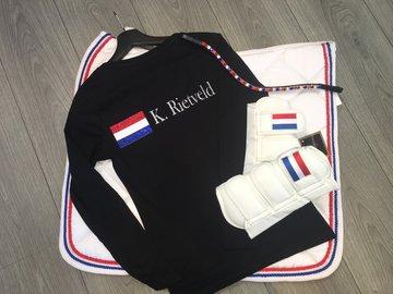 T-shirt gepersonaliseerd Holland